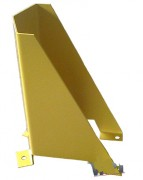 Protection rayonnage - Dimensions  : Haut 400 x Entraxe 160 mm