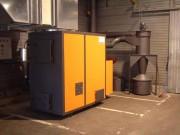 Générateur à air chaud à bois - Chauffage à alimentation manuelle ou automatique