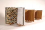 Lutrin incunable pour livres A4 - Dimensions (L x H x P) : 41 x 35 x 23 cm