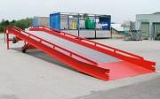 Rampe de chargement avec rambarde de sécurité - Dimensions : 12500x2380 mm  - Poids : 4750 kg