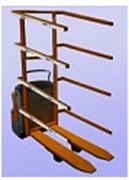 Chariot préparation commande motorisé - Picking sur palettes ou sur rolls