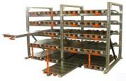 Rayonnage ergonomique à tiroirs acier