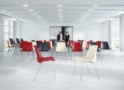 Chaise avec coque plastique - Coque en polypropylène moulé - Garantie : 3 ans
