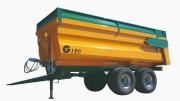 Remorque agricole - Bennes monocoques - de 10T à 24T de charge utile