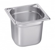 Bac alimentaire inox GN 1/6