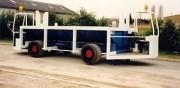 Remorque de manutention sur mesure charge 30 Tonnes - Capacité jusqu'à 30 T