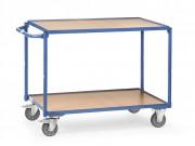 Chariot porte outils 2 plateaux 300 Kg - Charge :  300 kg