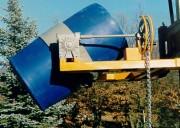 Retourneur de fûts rotation frontale - Capacité : 500 kg - Dim : L 1300 x l 1050 x H 450 mm