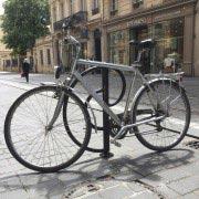 Borne antivol pour cycles
