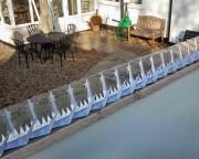 Pointes anti intrusion murales - Longueur de 1m22 - En acier galva