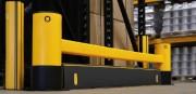 Barrière protection tête rack a anti fourche - 45° ou 90°