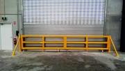 Barrière protection porte d'accès - Protection de porte à enroulement - Peut être automatisés