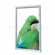 Cadre d'affichage clic clac aluminium - Plusieurs formats disponibles - Simple face