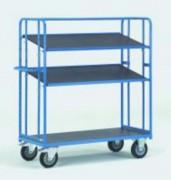 Chariot à plateaux inclinables - Charge (kg) : 400