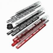Mines de recharge pour crayon charpentier - Mines de recharge épaisses rouge noir et blanc