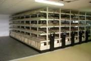 Rayonnage mobile mécanique archive - Rail de guidage et roulement