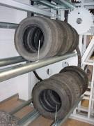 Stockage vertical de pneus - Carrousel vertical pour pneumatiques