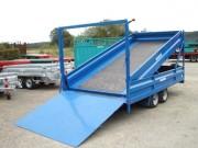 Porte quads avec rampe - Capacité de chargement : 8 Quads