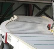 Convoyeur à bandes courbes - Charge maximale : de 30 à 200 kg