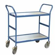 Chariot polyvalent à plateaux en bois - Charge utile : 150 Kg