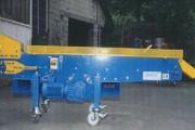 Convoyeur de forge avec accessoires d'extrémité - Avec accessoires d'extrémité