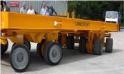 Remorque à essieux oscillants - Remorque à essieux oscillants,  50t (jusqu'à 100 tonnes)