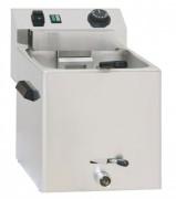 Cuiseur à pâtes électrique avec vanne de vidange - Dimensions de la cuve : L 240 x P 300 x H 200 mm