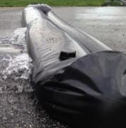 Boudins anti-inondation - Longueur 1,5m, 3m et 6m  - Hauteur 16,5cm et 25cm.