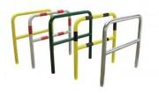 Barrière de sécurité à sceller - Diamètre : 60 mm - Longueurs : De 1000 mm à 2000 mm - Hauteur : 1200 mm