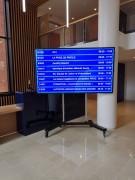 Ecran d'affichage LCD - Ecrans attrayants  -  Usage: interne, externe