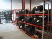 Rayonnage fixe pneu - Rayonnage métallique Profiltol
