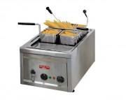 Cuiseur à pâtes et riz électrique - Capacité : 20/23 Litres - Puissance : 4 Kw - Dimensions : 400 x 600 x 330 mm