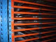 Rayonnage fixe batiment à panneaux bois