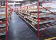 Rayonnage laboratoire pharmaceutique - Rayonnage Kanban