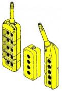 Boite à bouton sur mesure - Compatibles avec les tensions suivantes : 12 et 24 Vdc / 24, 48, 110 et 230 Vac.