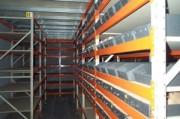 Rayonnage fixe métallique materiel transport