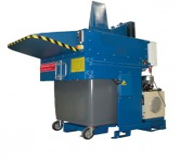 Compacteur à dechets 1000 litres - Poids : 1,2 tonnes