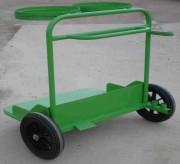 Chariot porte sac poubelle - Dimension (H x L x P) mm : 1150 x 1100 x 900
