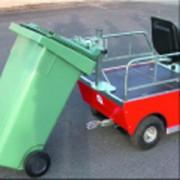 Véhicule électrique pour traction containers - Charge totale : 300 kg maximum