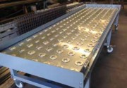 Table à billes 10 à 50 kg - Billes diamètre 15 mm, force 10 Kgs - Billes diamètre 25 mm, force 50 Kgs