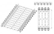 Convoyeur de copeaux à tapis - Type de copeaux : I, I-1, I-2, II, III, III-1, III-2, III-3, IV, IV-1