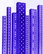 Cornières perforées - Pour rayonnage