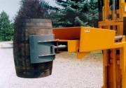 Retourneur manipulateur de fût - Capacité : 500 Kg - Dimensions : L 1850 x l 950 x H 270 mm