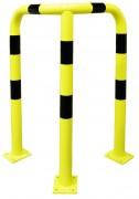 Arceau d'angle pour entrepôt - Hauteur : de 86 à 1200 mm - Poids : de 4.8 à 23.5 kg - Diamètre : 76 mm