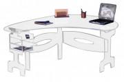 Bureau en plexiglas - Plexiglas épaisseur 15mm - Encombrement : 1,85 x 1,25 m - Poids : 45 Kg