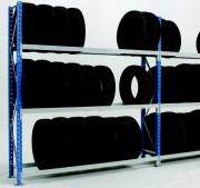 Rack stockage modulaire pour pneus - Hauteur 175 à 450cm - profondeur 50-60-70cm