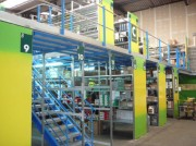 Plateforme industrielle sur rayonnage - Plate-forme sur rayonnage structures