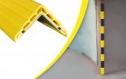 Protection d'angle de mur en élastomère