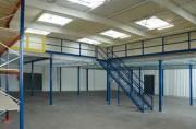 Installations plateformes mezzanines - Création sur mesure