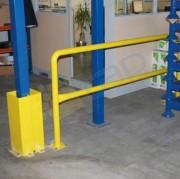 Barrières de sécurité industrielles - 3 long disponibles : 1m, 1.5m, 2m   -  Finition : laquée jaune RAL 102